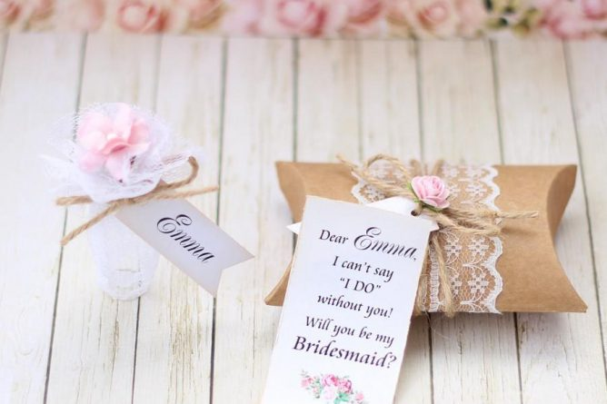 Will You Be My Bridesmaid Invitation Message In A Bottle