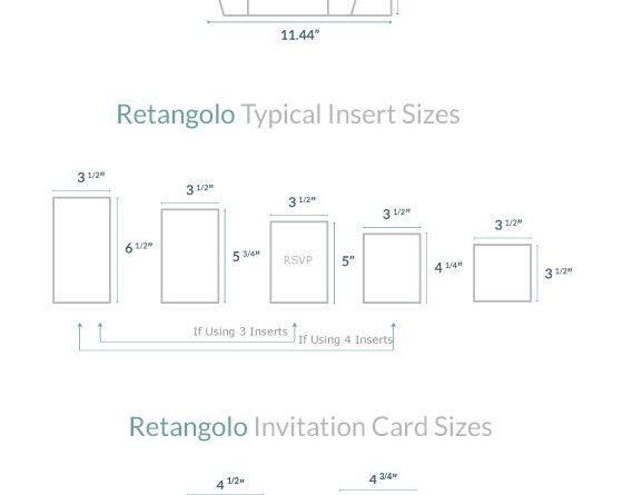 Invitation Size Guide