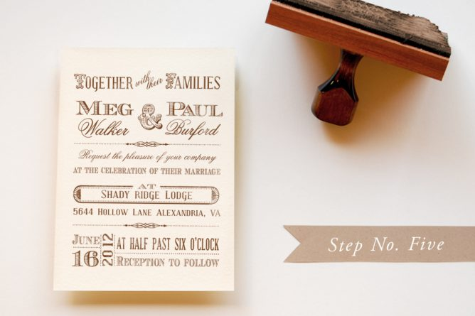 Diy Rubber Stamp Vintage