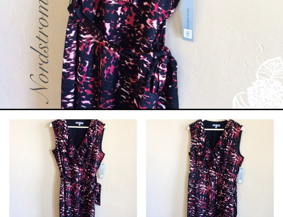 ❣️new Arrival❣ ✨nordstrom Designer Silk Dress✨ Nwt Nordstrom